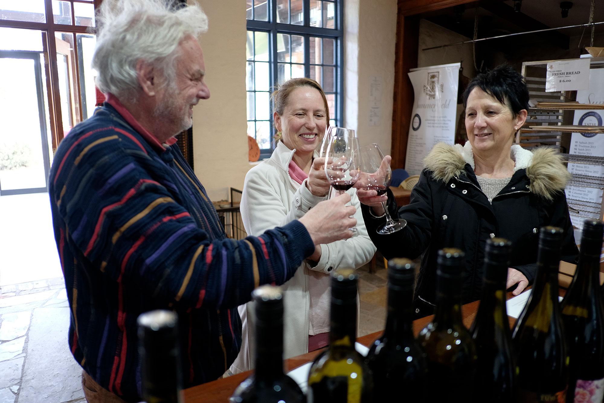 wine tasting Ballarat