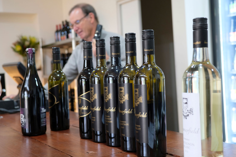 winery bottles